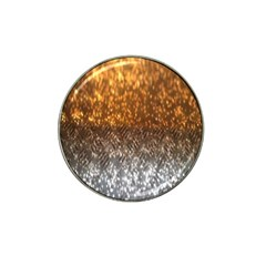 Glitter Gold Hat Clip Ball Marker (10 Pack) by Sparkle