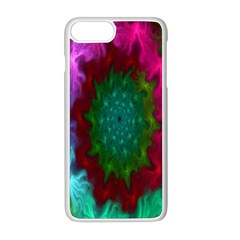 Rainbow Waves Iphone 8 Plus Seamless Case (white)