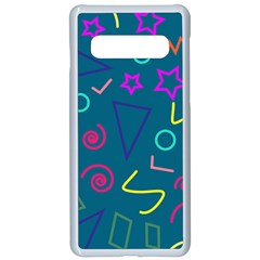 Memphis  Samsung Galaxy S10 Seamless Case(white) by Sobalvarro