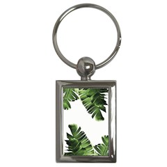 Banana Leaves Key Chain (rectangle) by goljakoff