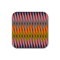 Zappwaits - Your Rubber Square Coaster (4 pack)