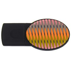 Zappwaits - Your USB Flash Drive Oval (4 GB)
