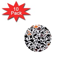 Zappwaits - Words 1  Mini Buttons (10 Pack)  by zappwaits