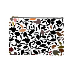 Zappwaits - Words Cosmetic Bag (large) by zappwaits