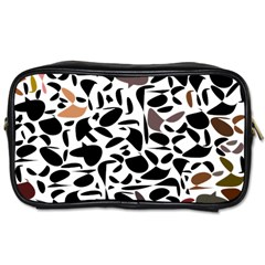 Zappwaits - Words Toiletries Bag (one Side) by zappwaits