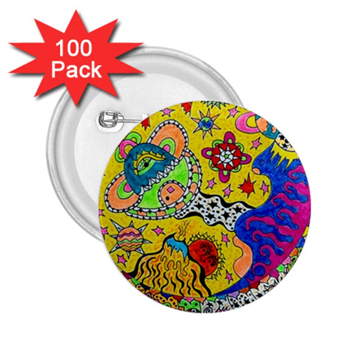 Supersonicplanet2020 2.25  Buttons (100 pack)