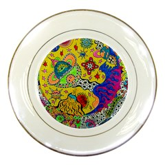 Supersonicplanet2020 Porcelain Plates by chellerayartisans