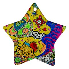 Supersonicplanet2020 Star Ornament (two Sides) by chellerayartisans