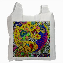 Supersonicplanet2020 Recycle Bag (one Side) by chellerayartisans