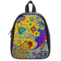 Supersonicplanet2020 School Bag (small) by chellerayartisans