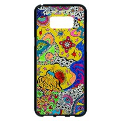 Supersonicplanet2020 Samsung Galaxy S8 Plus Black Seamless Case