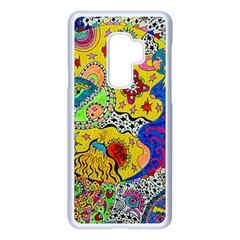 Supersonicplanet2020 Samsung Galaxy S9 Plus Seamless Case(white)