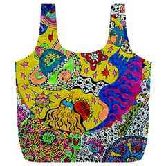 Supersonicplanet2020 Full Print Recycle Bag (xxxl) by chellerayartisans
