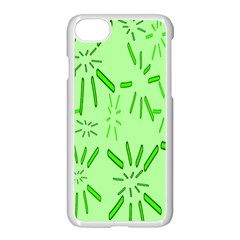 Electric Lime Iphone 7 Seamless Case (white)