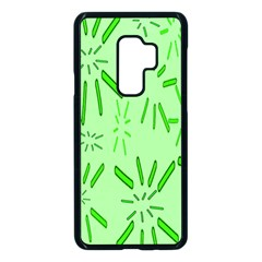 Electric Lime Samsung Galaxy S9 Plus Seamless Case(black)