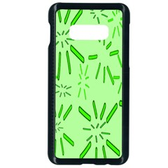 Electric Lime Samsung Galaxy S10e Seamless Case (black)