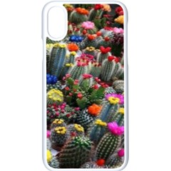 Cactus Iphone X Seamless Case (white)