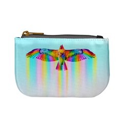 Rainbow Bird Mini Coin Purse by Sparkle