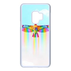 Rainbow Bird Samsung Galaxy S9 Seamless Case(white)