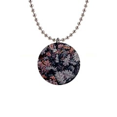 Autumn Leafs 1  Button Necklace