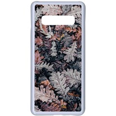 Autumn Leafs Samsung Galaxy S10 Plus Seamless Case(white) by Sparkle