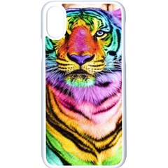 Rainbowtiger Iphone X Seamless Case (white)