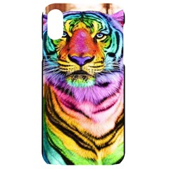 Rainbowtiger Iphone Xr Black Uv Print Case