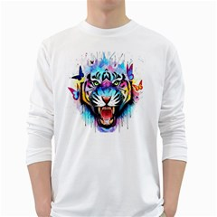 Butterflytiger Long Sleeve T-shirt by Sparkle