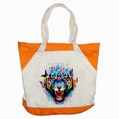Butterflytiger Accent Tote Bag by Sparkle