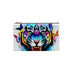 Butterflytiger Cosmetic Bag (small) by Sparkle