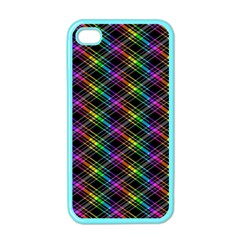 Rainbow Sparks Iphone 4 Case (color) by Sparkle