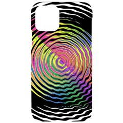 Rainbowwaves Iphone 11 Pro Black Uv Print Case