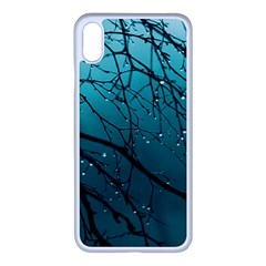 Raindrops Iphone Xs Max Seamless Case (white)