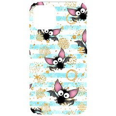 Halloween Bats Iphone 11 Pro Black Uv Print Case