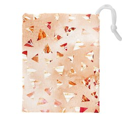 Autumn Abstract Drawstring Pouch (3xl)