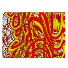 Fire On The Sun Cosmetic Bag (xxl) by ScottFreeArt