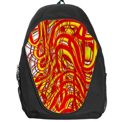 Fire On The Sun Backpack Bag