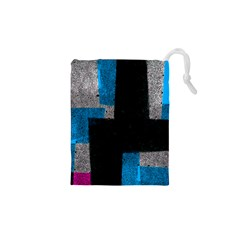 Abstract Tiles Drawstring Pouch (xs)