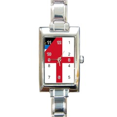 Naval Ensign Of Antigua & Barbuda Rectangle Italian Charm Watch by abbeyz71