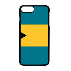 Flag Of The Bahamas Iphone 8 Plus Seamless Case (black)