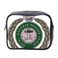 Emblem Of Bahamas Defence Force  Mini Toiletries Bag (two Sides)