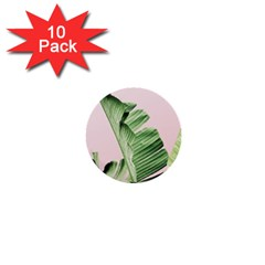 Palm Leaf 1  Mini Buttons (10 Pack)  by goljakoff