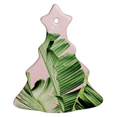 Palm Leaf Christmas Tree Ornament (two Sides) by goljakoff