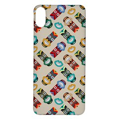 Ethnic Tribal Masks Iphone X/xs Soft Bumper Uv Case by tmsartbazaar