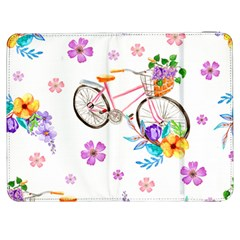 Cycle Ride Samsung Galaxy Tab 7  P1000 Flip Case by designsbymallika