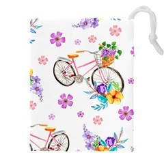Cycle Ride Drawstring Pouch (3xl)