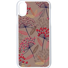 Cherry Love Iphone X Seamless Case (white) by designsbymallika
