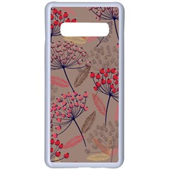 Cherry Love Samsung Galaxy S10 Plus Seamless Case(white)