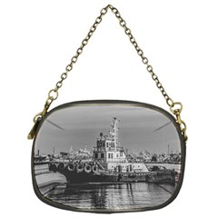 Tugboat At Port, Montevideo, Uruguay Chain Purse (one Side) by dflcprintsclothing
