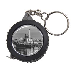 Tugboat At Port, Montevideo, Uruguay Measuring Tape by dflcprintsclothing
